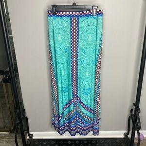 Double Split Maxi Skirt